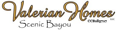Scenic Bayou Valerian Homes Logo